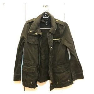 H&M Green Army Jacket